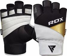 Men's RDX Strength Training Half Finger Gloves