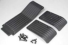RPM 80112 Front/Rear/Center Skid/Wear Plate Black Traxxas T-Maxx E-Maxx