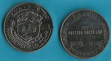 HUDDERSFIELD TOWN FA CUP FOOTBALL CENTENARY COIN ESSO 1872-1972 MEDAL COLLECTION