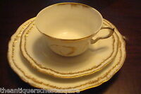 Theodore Haviland, Limoges, France TRIO, dessert plate, cup and saucer [4*35]