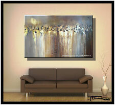 HUGE ABSTRACT PAINTING MODERN CANVAS WALL ART 48 Large Framed USA ELOISExxx