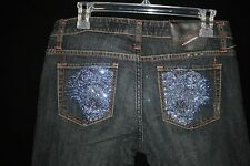 Ed Hardy by Christian Audigier Women's Blue Jeans Size 28 x 32