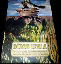 "1975 Dersu Uzala ORIGINAL CZECH POSTER Akira Kurosawa 33""x24"" Art by Ziegler!"