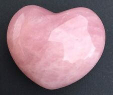 Rose Quartz Crystal Heart- Large