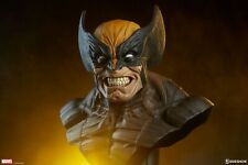 Wolverine Brown Lifesize Bust Sideshow Collectibles Marvel 1:1 Scale Logan