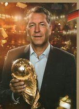 Limited, Limitierte Edition DFB Autogrammkarte! Andreas Köpke!! RAR!!, Gold