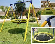 Playground Swing Set Toddler Outdoor Backyard Kids UFO Playset Children Fun Play