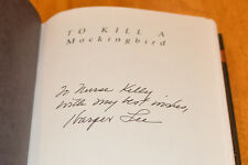 Harper Lee To Kill A Mockingbird Signed 35Th 1st Printing First Edition 1st/1st