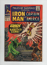 Tales Of Suspense #87 -Iron Man/Captain America- Crisis At Earths Core (6.0)1967