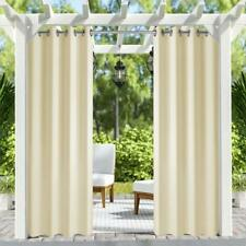 """50""""x84"""" Patio Outdoor/Indoor Curtains UV Privacy Drape Thick Waterproof Fabric"""