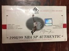 1998-99 NBA SP AUTHENTIC BASKETBALL FACTORY SEALED BOX UPPER DECK
