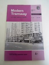 Modern Tramway+Light Railway Review February 1969 - lllustrated Vintage Magazine