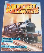 MODEL RAILWAYS SEPTEMBER 1987 - PETERBOROUGH 1987/MORTONHAMPSTEAD
