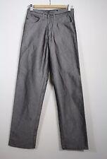 Krome Gray Silver Men's Flat Front Pants Size 28