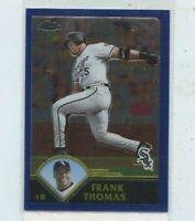 FRANK THOMAS 2003 Topps Chrome #23 Chicago White Sox