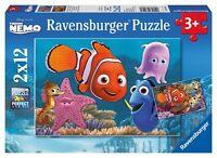 Ravensburger Puzzle Puzzles KinderDisney Nemo der kleine Außreisser 2 x 12 Teile