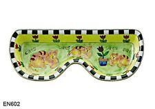 KELVIN CHEN Enamel Copper Eyeglasses Holder Hand paint Dish Tray Cat Kitty