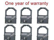 6 black ink ribbon cartridge for Panasonic KX-P1191 KX-P1180/P1695/P115 printer