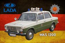 Lada Niva als AutoGravur auf LED Schild 4x4 Gelände
