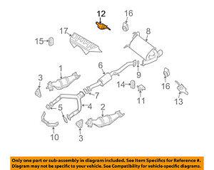 NISSAN OEM-Exhaust Bracket-Rear Right 20741CD000