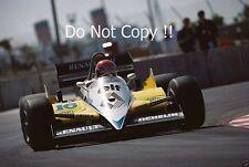 Eddie Cheever Renault RE40 USA West Grand Prix 1983 Photograph
