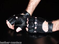 Fingerlose Chopperhandschuhe Lederhandschuhe Handschuhe Leder