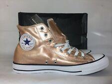 New Converse Chuck Taylor All Star Hi Metallic Bronze Gold Men Size 11 Shoe