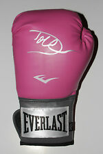 DOLPH LUNDGREN Hand Signed PINK EVERLAST Boxing Glove ROCKY DRAGO w/PROOF