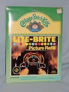 Hasbro Lite Brite Picture Refill CABBAGE PATCH New
