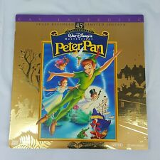 Disney Peter Pan 1998 LaserDisc 45th Anniversary Fully Restored Limited Edition