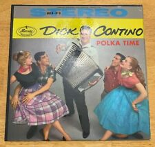 Dick Contino Polka Time Vinyl