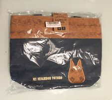 My Neighbour Totoro Cork & Denim Lunch Bag Brand New with tag