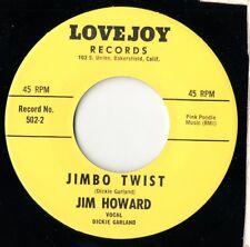 Jim Howard - Jimbo Twist / Down At Old Jimbo's - Lovejoy - Rockabilly RE