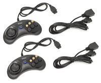 SEGA Genesis Wired Controller Extension Cable Cord 6 Button