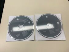 APPLE MACBOOK Mac OS X INSTALL DISC 1 & 2 10.4.6