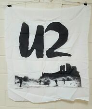 U2 Wide Awake in America 38x44 Fabric wall hanging tapestry Nos