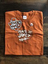 Pearl Jam Austin City Limits Event T Shirt Sticker Button 10-12-2014