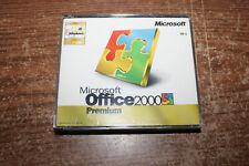 Microsoft Office 2000 Premium  4 CD Set w/ Product Keys