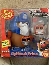 Mr. POTATO HEAD Transformers Optimash Prime Potatoes in Disguise Playskool NEW