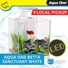 Aqua One Betta Sanctuary Glass Aquarium 10L White (56308WH)