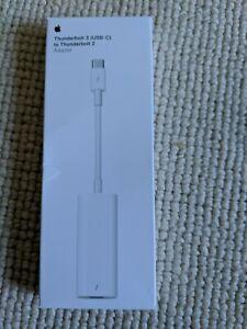 Apple MMEL2AM/A Thunderbolt 3 USB-C to Thunderbolt 2 Adapter