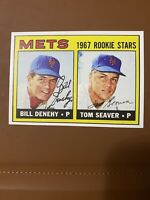 1967 TOPPS TOM SEAVER BRAND NEW ROOKIE REPRINT CARD #581