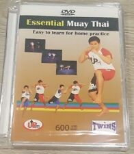 Muay Thai MMA Boxing Kick Fighting DVD Learning Step By Step How Fairtex English