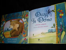 Peter Yarrow signed Day Is Done hardcover book w/3 song CD