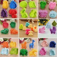 Various Colorful Cookie Fondant Cake Sugarcraft Decorating Plunger Cutter  ❤