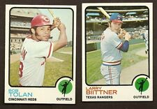 1973 Topps Baseball Finish Your Set Lot Pick 10 Most NM Condition #397-525