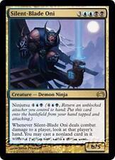 SILENT-BLADE ONI Planechase 2012 MTG Gold Creature — Demon Ninja RARE