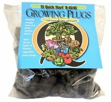 Quick Start 55 Replacement Growing Plugs - rooting seed starter plant grow cubes