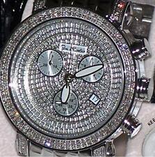 New Authentic Mens Joe Rodeo classic jcl15 st.steel 1.75ct.apx. Diamond Watch