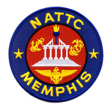 US NAVAL AIR TECHNICAL TRAINING CENTER MEMPHIS TN MILITARY PATCH - NATTC MEMPHIS